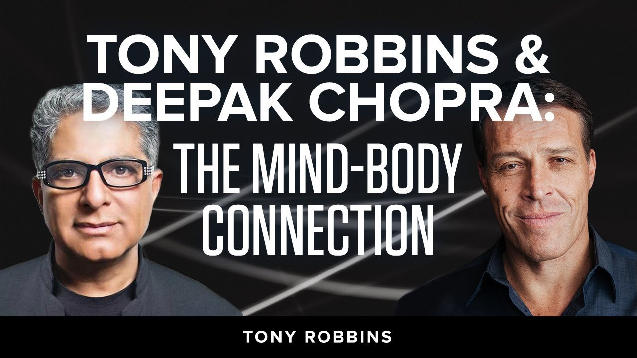 Tony Robbins with Deepak Chopra